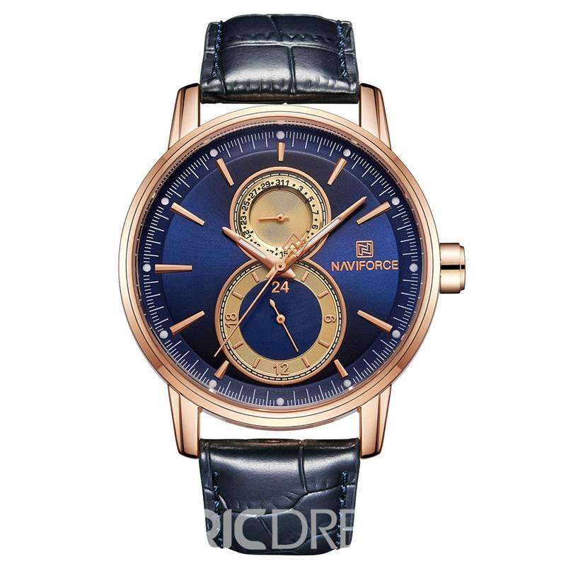 Ericdress Leather Men Quartz Watch