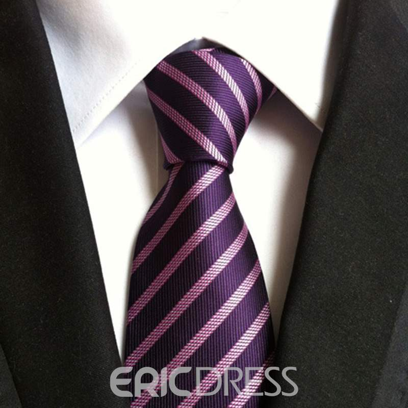 Ericdress Businesses Stripe Paisley Tie For Man