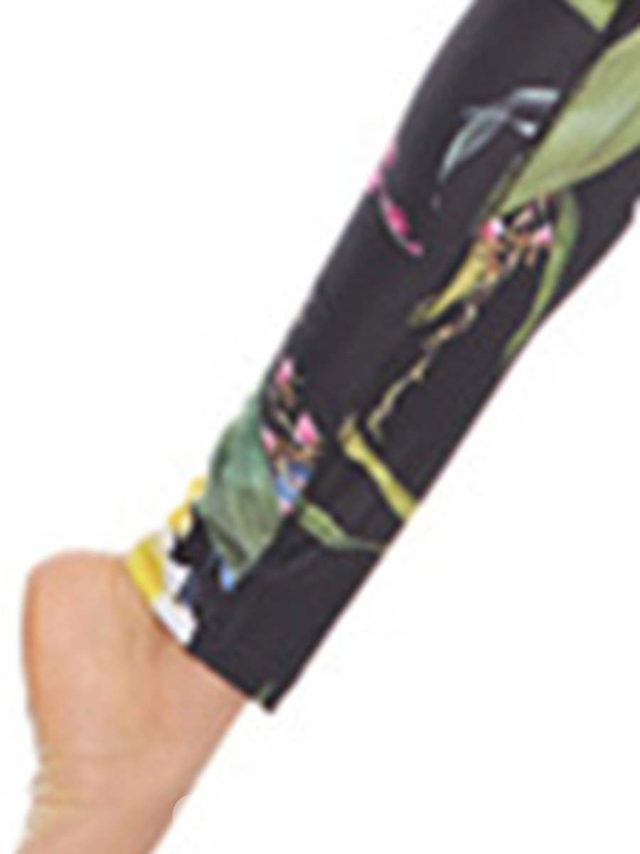 Ericdress Floral Breathable Polyester Print Tennis Pants