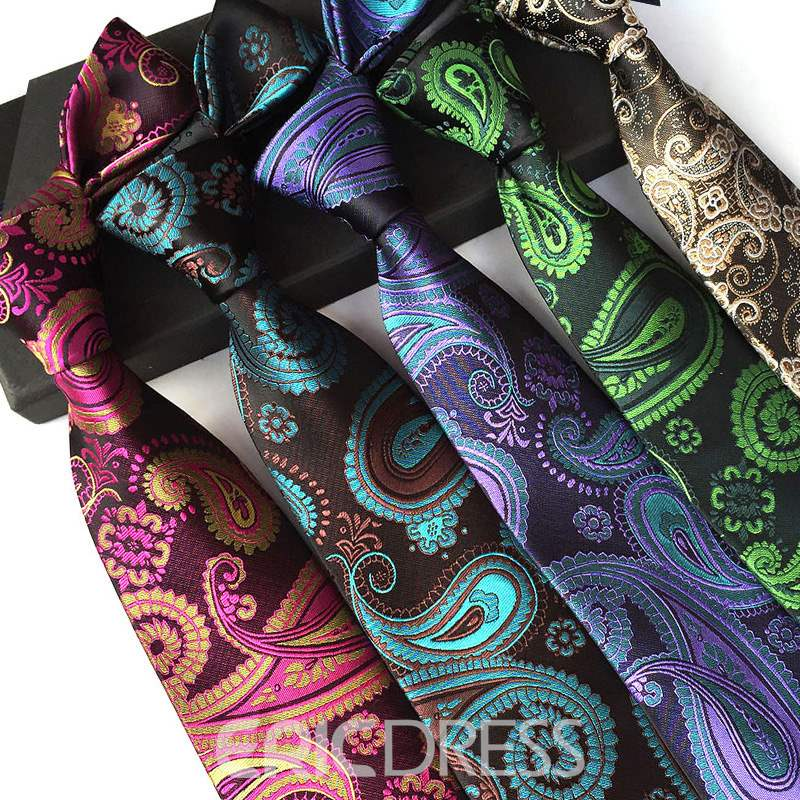 Ericdress Businesses Paisley Tie For Man