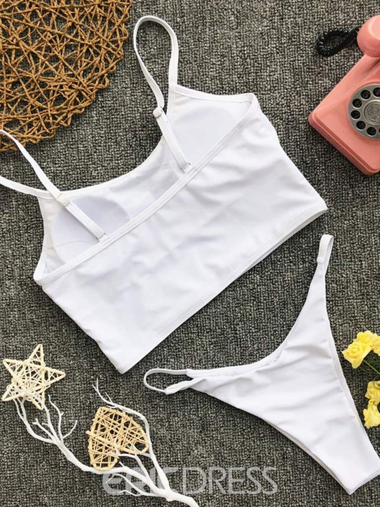 Ericdress Sexy Plain Simple Bikini