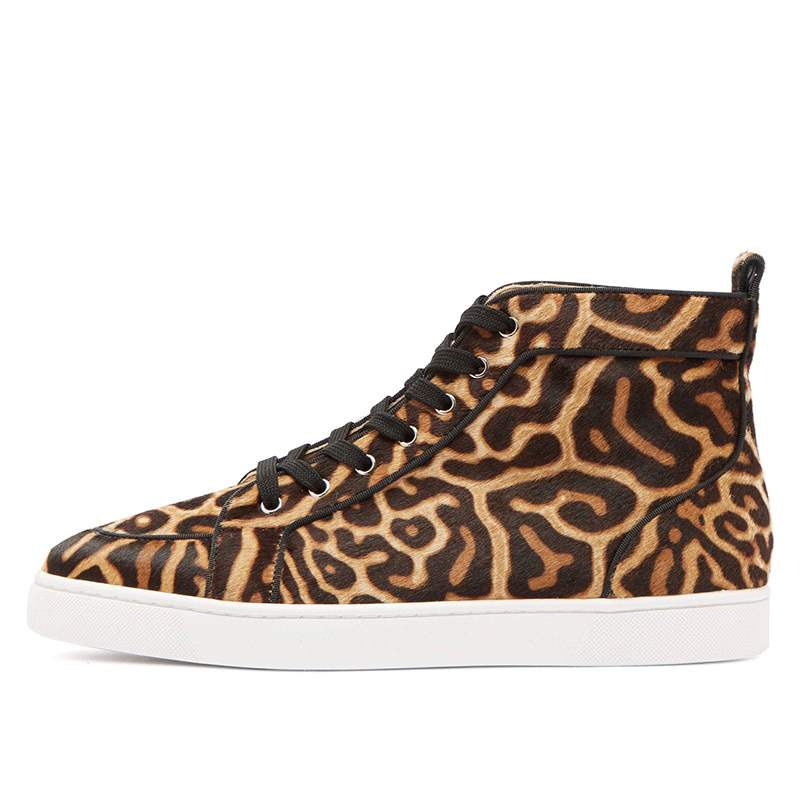 Ericdress Leopard Print High-Cut Upper Men's Casual Shoes