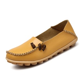 Ericdress PU Round Toe Slip-On Women's Flats