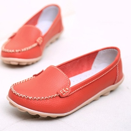 Ericdress Plain Round Toe Slip-On Women's Casual Flats