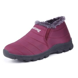Ericdress Round Toe Short Floss Women's Snow Boots