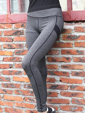 ericdress Anti-Sweat-Polyester-Pingpong-Leggings für Frauen