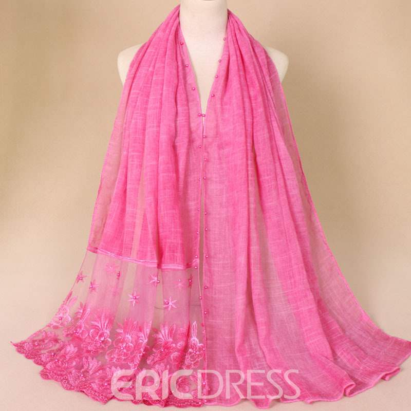 Ericdress Pure Color Lace Scraf