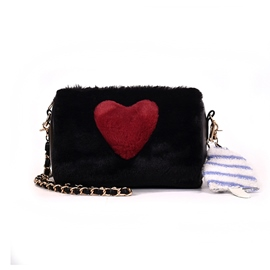 Ericdress Color Block Heart Shaped Circular Crossbody Bags