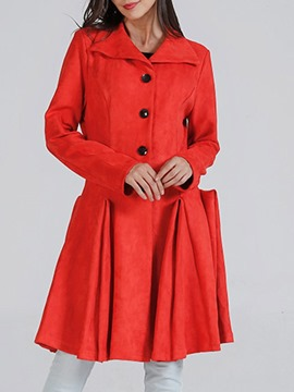 Ericdress Slim Regular Winter Long Coats