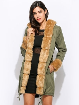 Ericdress Slim Thick Long Down Coat