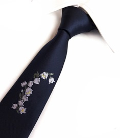 Ericdress Rose Stitchwork Men Tie