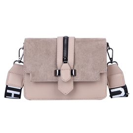 Ericdress Patchwork PU Plain Belt Decorated Rectangle Crossbody Bags