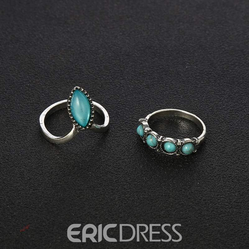 Ericdress Square Retro Ring