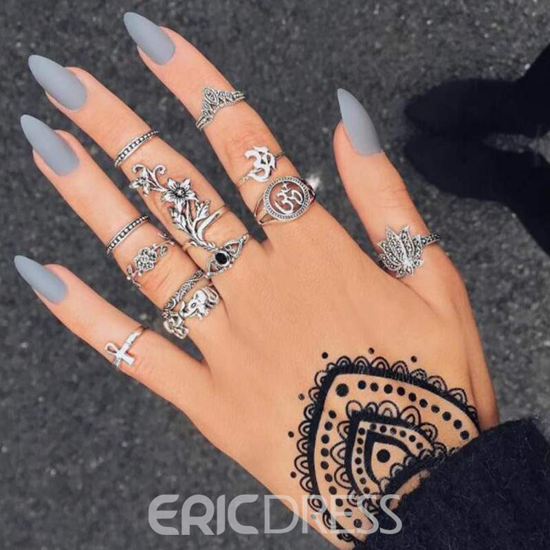 Ericdress Retro Alloy Rings