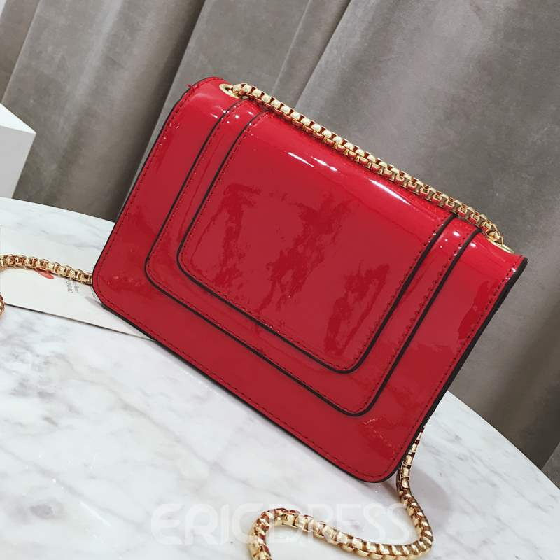 Ericdress Thread PU Envelope Crossbody Bags