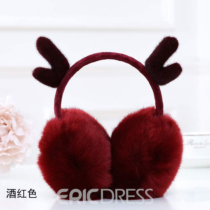 Ericdress Warm Elk Winter Plush Earmuff