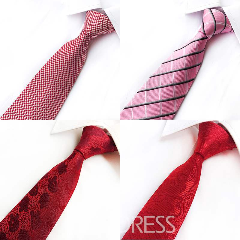 Ericdress Striated Printing Men Tie
