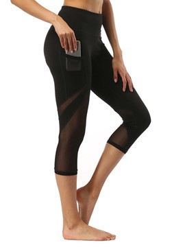 Ericdress Pocket Breathable Patchwork Basketball Pants
