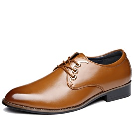 Ericdress Low-Cut Upper Plain Round Toe Men's Oxfords