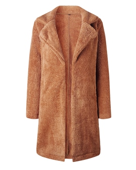 Ericdress Loose Regular Long Fall Coats