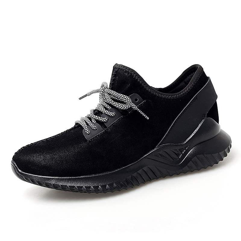 Ericdress Mid-Cut Upper Lace-Up Round Toe Men's Sneakers