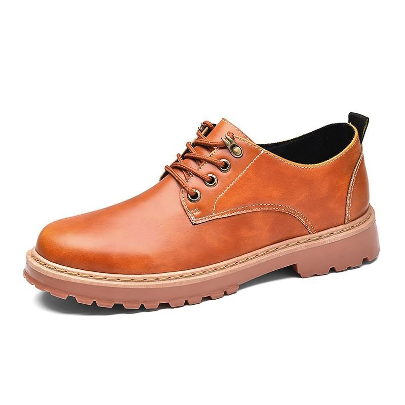 Ericdress Plain Lace-Up Low-Cut Upper Men's Casual Shoes