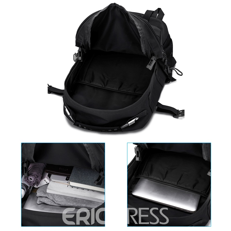 Ericdress Nylon Unisex Backpack Army Bag