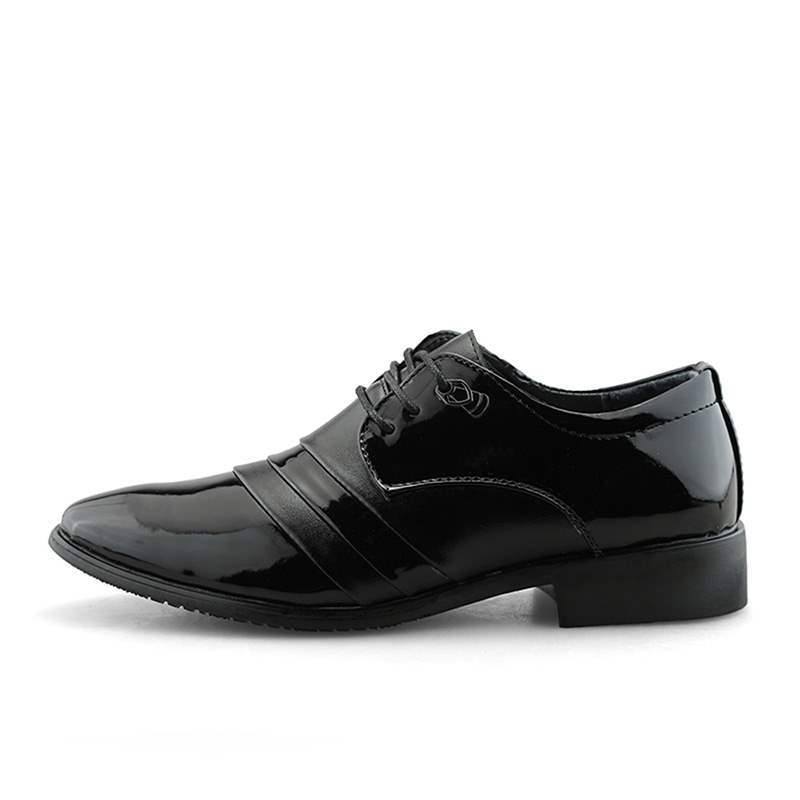 Ericdress PU Plain Low-Cut Upper Men's Oxfords