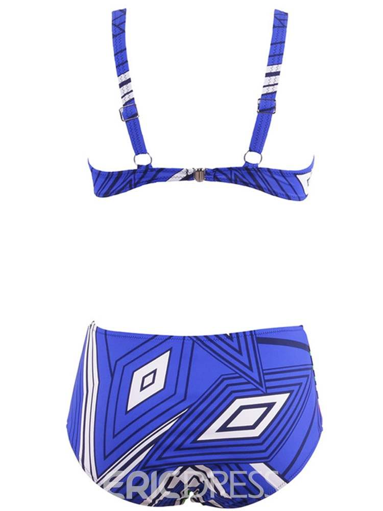 Ericdress Tankini Set Sexy Geometric Swimwear