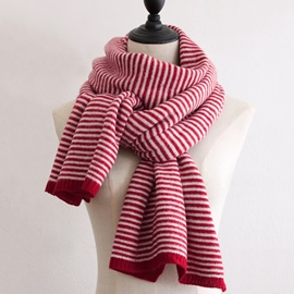 Ericdress Striated Warm Winter Scarf