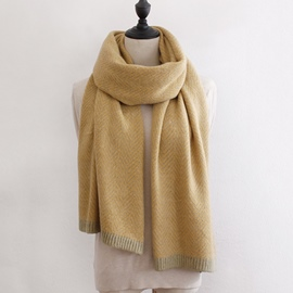 Ericdress Houndstooth Warm Winter Scarf