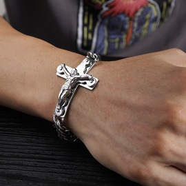 Ericdress Cross Jesus Men's Bracelets