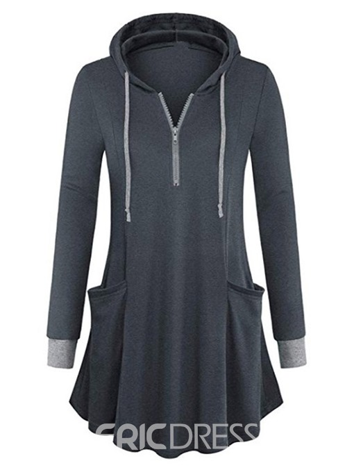 Ericdress Regular Long Sleeve Fall Hoodie