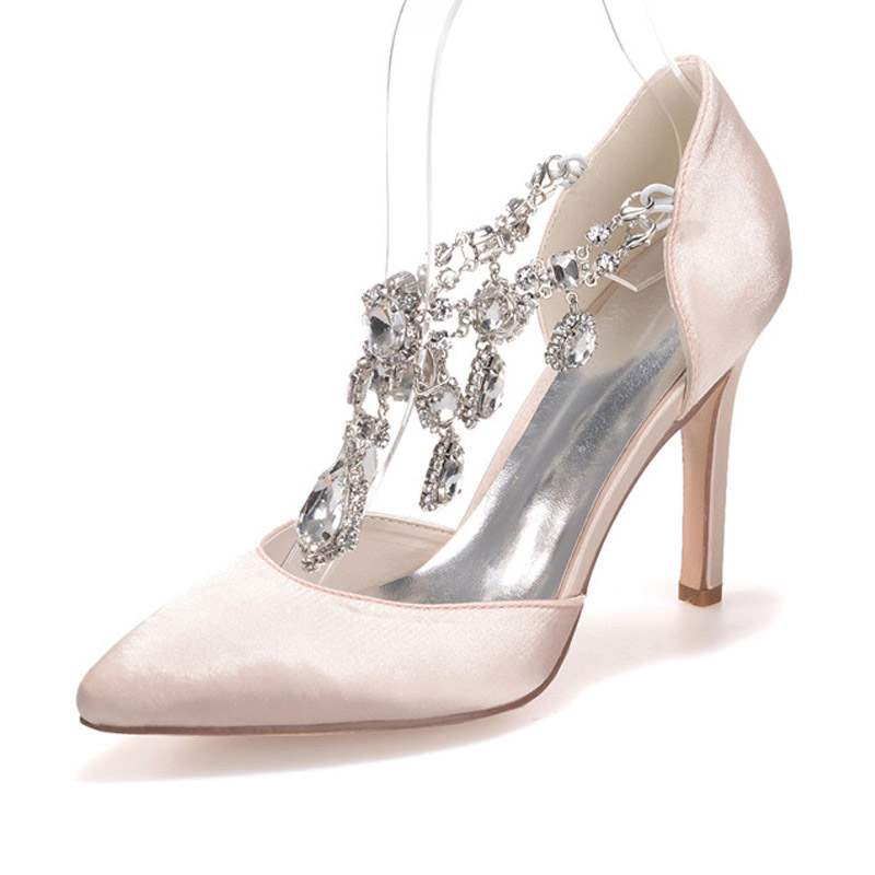 Ericdress Rhinestone Pointed Toe Women's Wedding Shoes