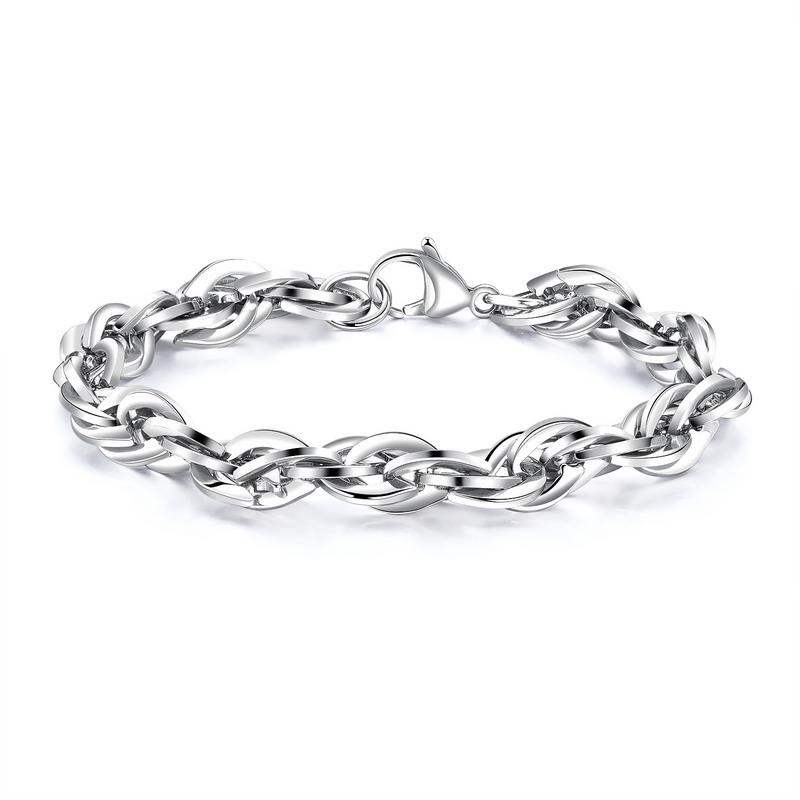 Ericdress Simple Titanium Steel Men's Bracelet