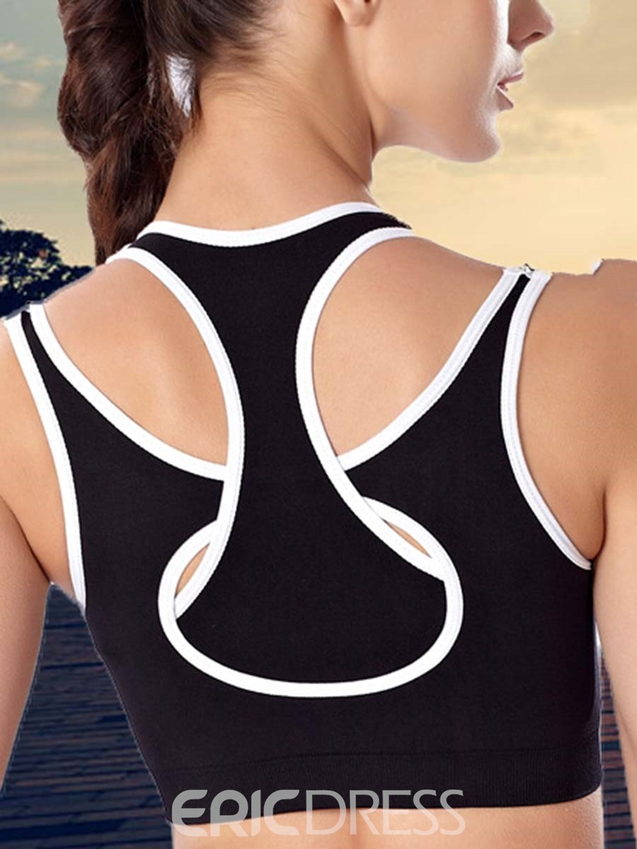 Ericdress Non-Adjusted Straps Anti-Pilling Free Wire Sports Bras