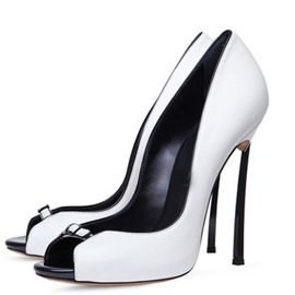 Ericdress Peep Toe Stiletto Heel Women's Pumps