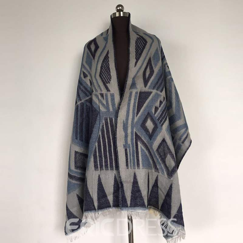 Ericdress Geometric Pattern Winter Scarf