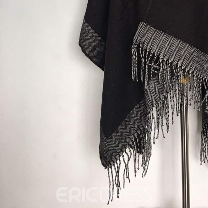 Ericdress Dark Color Shawl