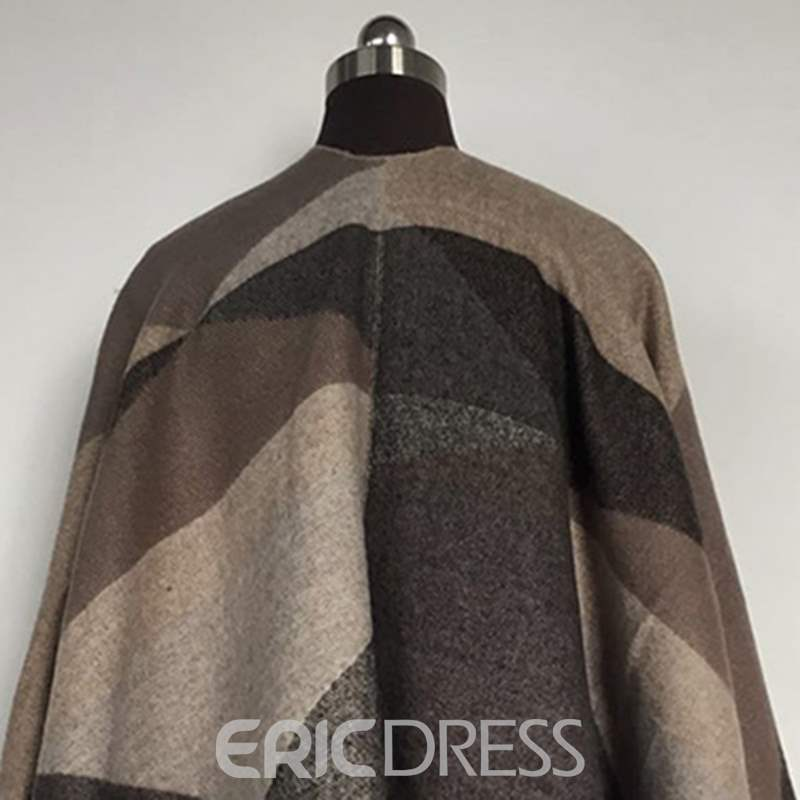Ericdress Warm Geometric Pattern Winter Scarf