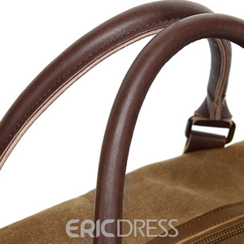 Ericdress Canvas Thread Plain Travelling Bags