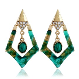 Ericdress 2019 Fashion New Style Kallaite Earrings