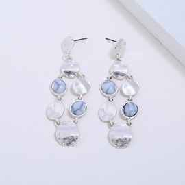 Ericdress Shell Drop Earrings