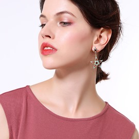 Ericdress Star&Moon Fashion Earrings