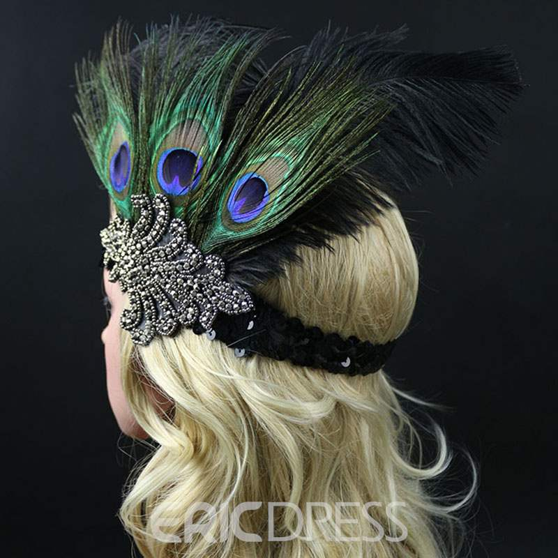 Ericdress Peacock Hair Accessories