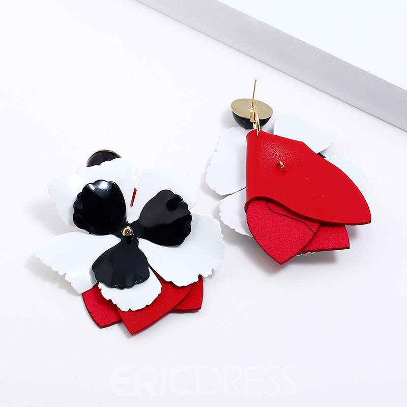 Ericdress Flower Stereoscopic Earrings