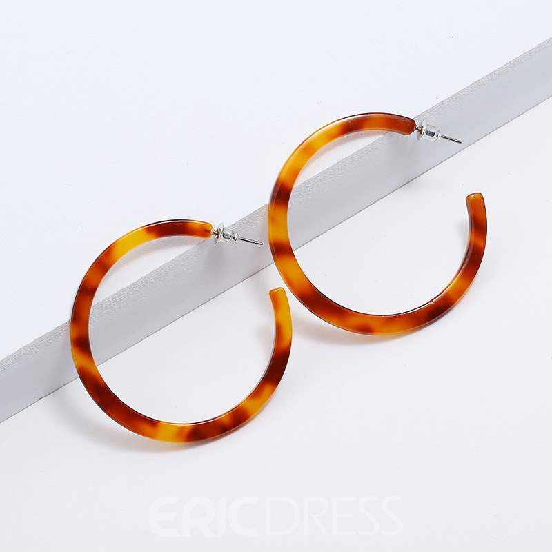 Ericdress Amber Fashion Loop Earrings