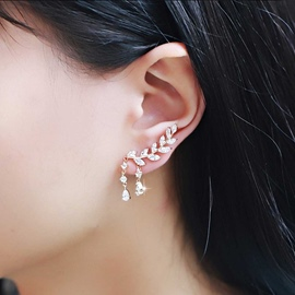 Ericdress Diamante Earrings For Women