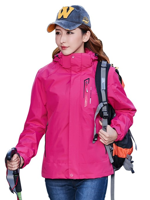 Ericdress Hiking Pockets Windproof Nylon Two-Piece Suit Unisex Tops