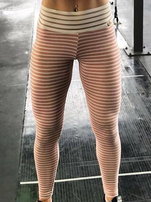 Ericdress Polyester Patchwork Anti-Sweat Stripe Female Leggings
